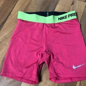 Nike pros.